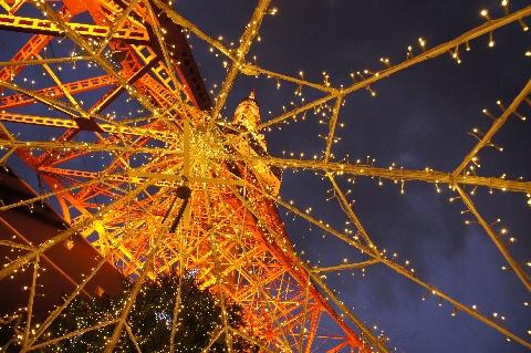 東京タワー・イルミネーション