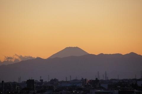 16時45分の富士山