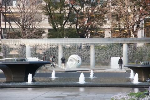 和田倉噴水公園の噴水