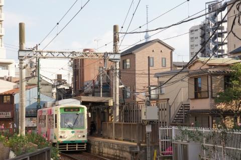 都電と東京スカイツリー