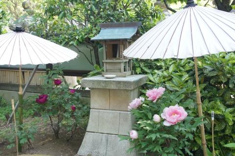 番傘に囲まれる木花咲耶姫命