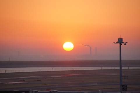 どんどん昇る太陽