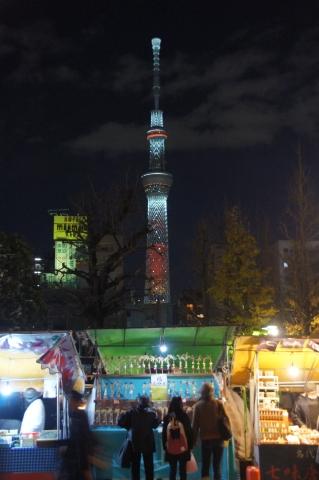 キャンドルの東京スカイツリー2