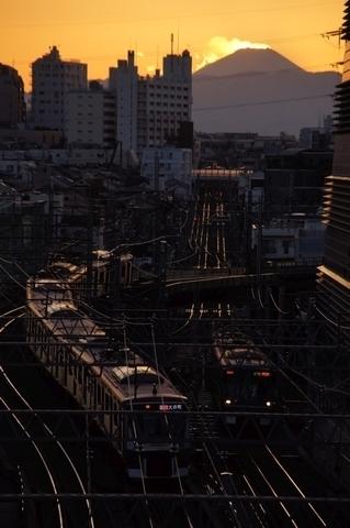 並ぶ東急線