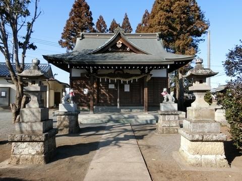 三ケ島稲荷神社拝殿