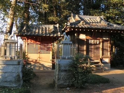 北野天神社 稲荷社・八雲社