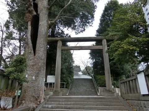 所澤神明社一の鳥居