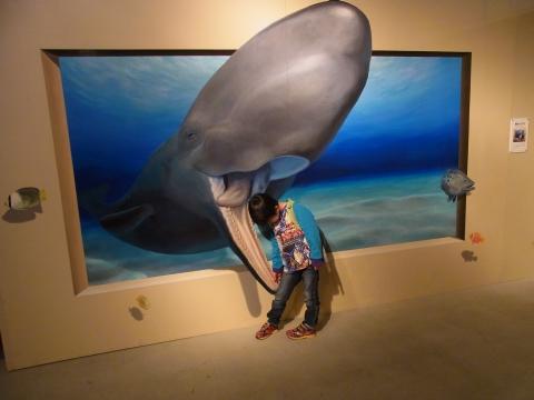 クジラに食べられちゃう〜