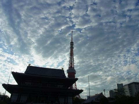 増上寺と東京タワー2