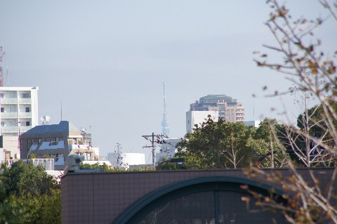 恵比寿で東京スカイツリー