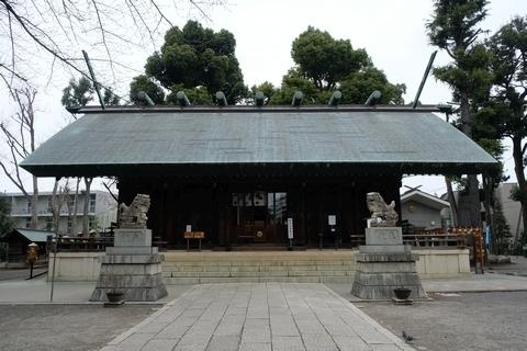 所澤神明社拝殿