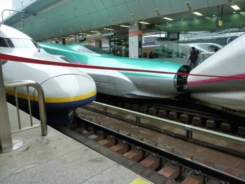 悠真撮影・新幹線の夢のコラボ