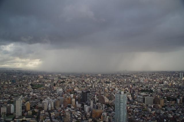 高井戸付近の降水雲