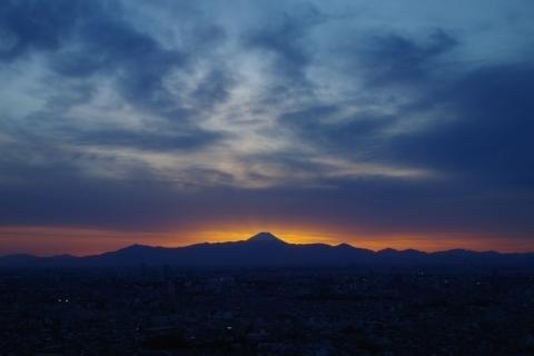神々しい富士山