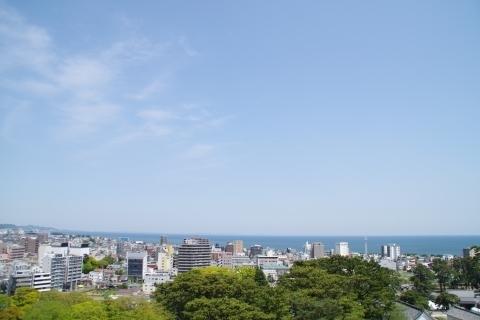 三浦半島側の眺め