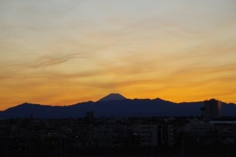 富士山と不思議な空