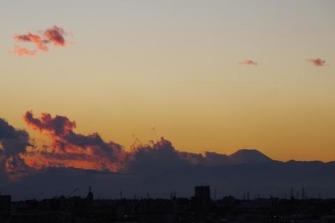 富士山から年賀状