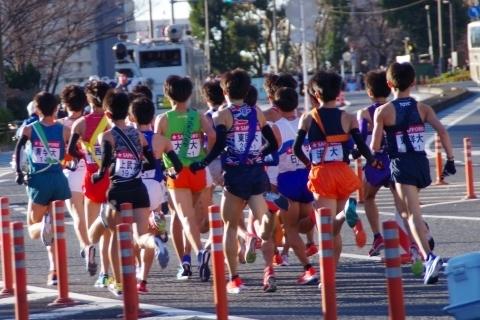 第94回箱根駅伝第1区新八ツ山橋5