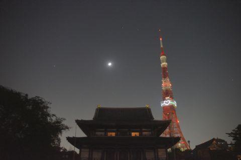 増上寺の空