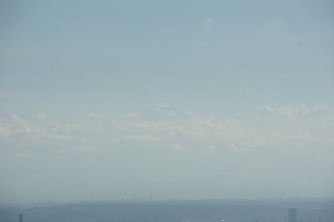 大分見えてきた富士山