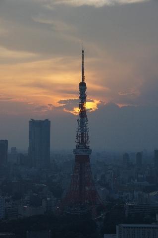 東京タワー・夕景