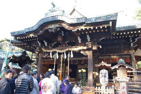 花畑大鷲神社 本殿