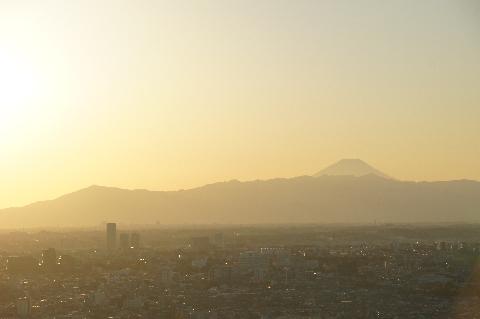 大山から富士山まで