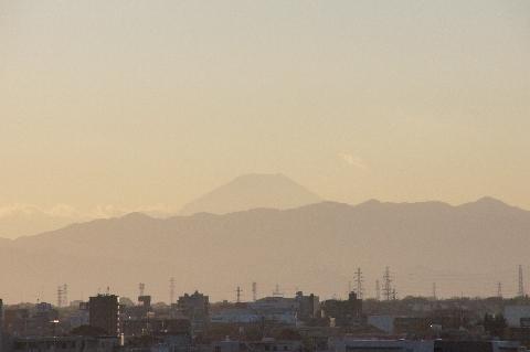 16時の富士山