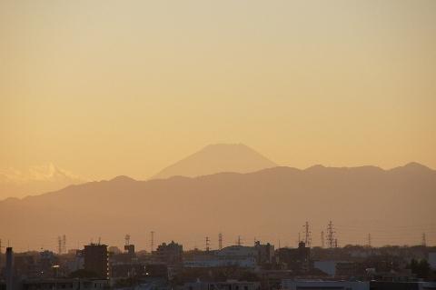 16時15分の富士山