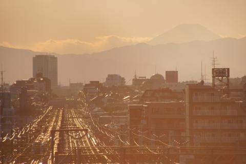 相生坂からの風景