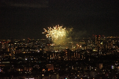 多摩川花火大会2