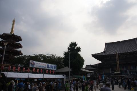 川崎大師平間寺境内