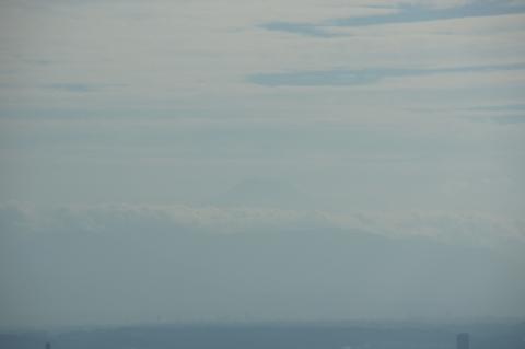 かすかな富士山