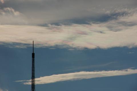 東京タワーと彩雲2