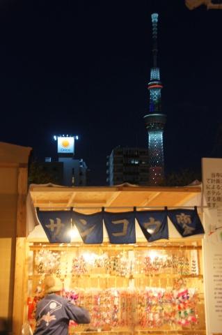 キャンドルの東京スカイツリー1