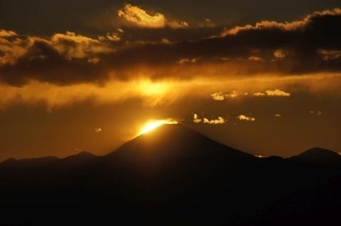 もうすぐ沈む太陽