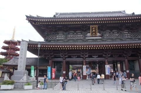 大山門と八角五重塔