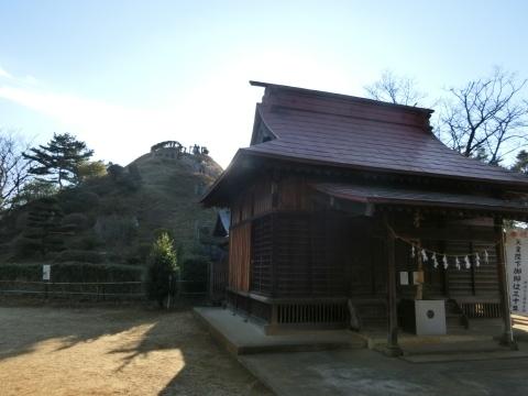 荒幡浅間神社と荒幡富士