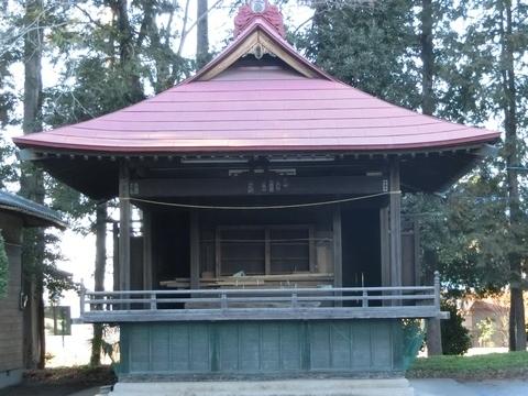三ヶ島中氷川神社神楽殿