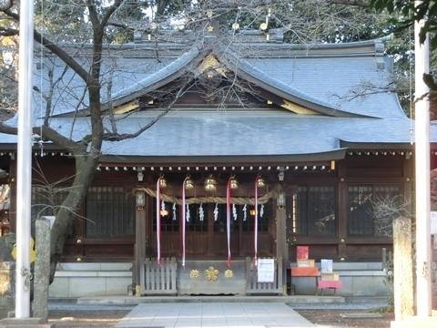 北野天神社拝殿
