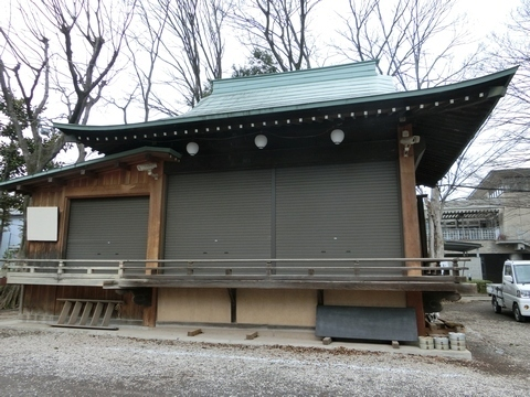 所澤神明社神楽殿