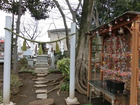 所澤神明社鳥船神社