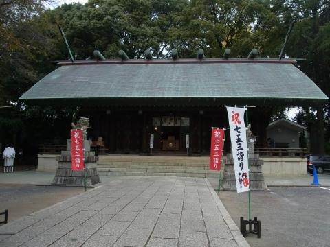 所沢神明社 社殿