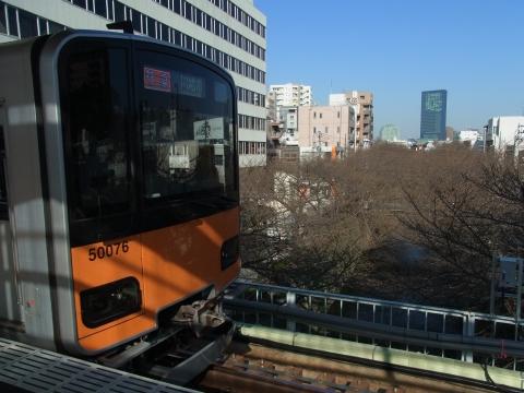 東横線を走る東武東上線