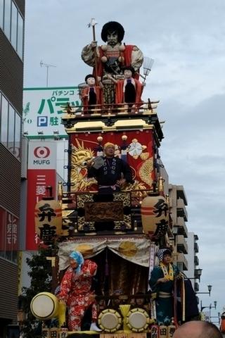 弁慶の山車