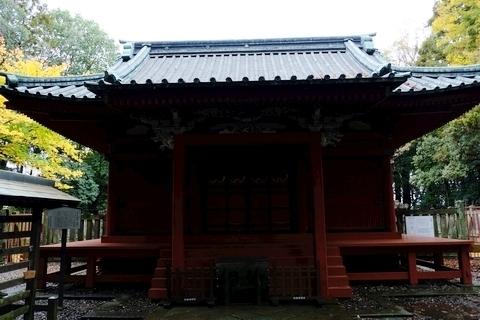 仙波東照宮拝殿