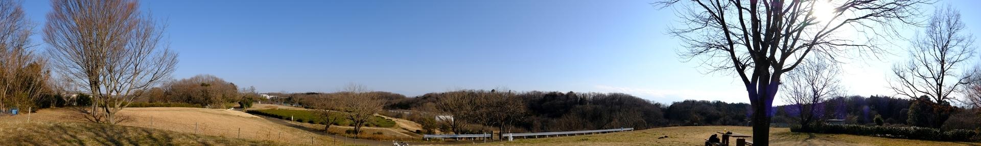 比良の丘のパノラマ