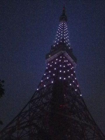 東京タワー・哀悼の光