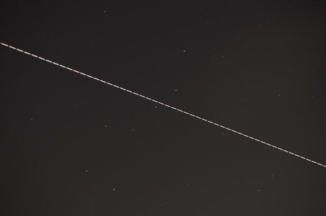 北斗七星とISS