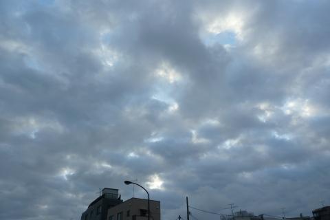 3.11 朝の空